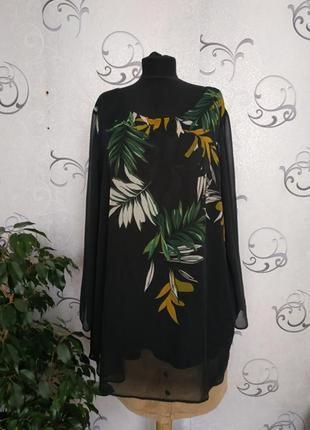 Женская блузка большого размера m&s