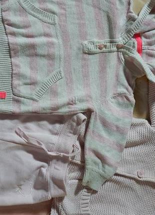 Кофточки и штаники на флисе 3-6мес
