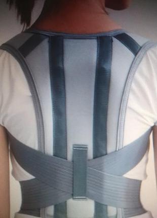 Бандаж для спини корсет алком 1020 розмір 1 сірий