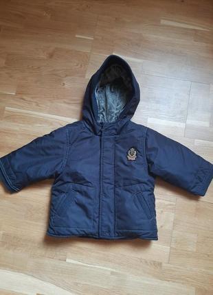 Демисезонная супер- куртка на мальчика 12мес.
