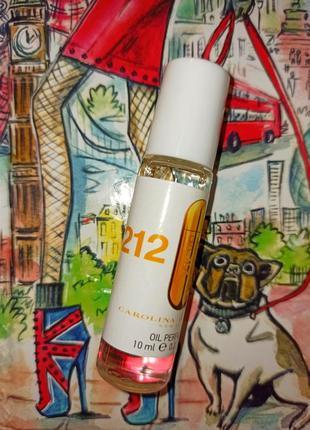 212 vip carolina herrera стойкий парфюм
