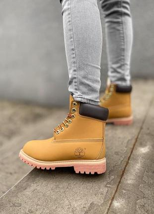 Распродажа 🍏 timberland зимние 🍏 женские мужские ботинки на меху