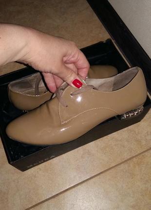 Продам полностью кожаные туфли