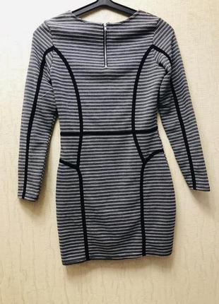 Платье бандажное осеннее h&m