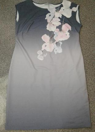 Красивое летнее платье sunwear, польша, р. 50-52.