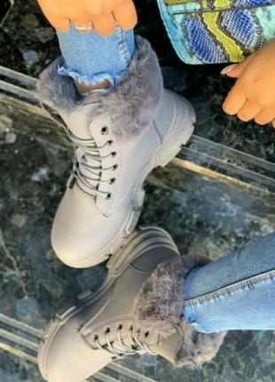 Ботинки женские, зимние тепленикие и комфортные.2 фото