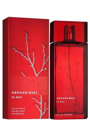 Armand basi in red eau de parfum  парфюмированная вода  100мл тестер
