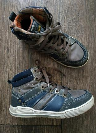 Ботинки демисезонные, хайтопы 30р, кеды