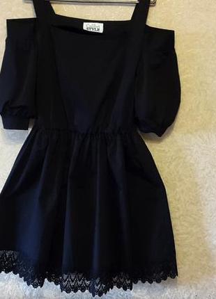 Купить чёрное платье в украине