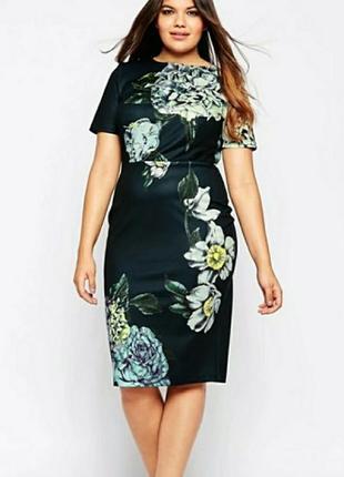 Шикарное платье сurve premium