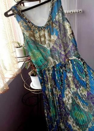 Платье/юбка с украшением в пол