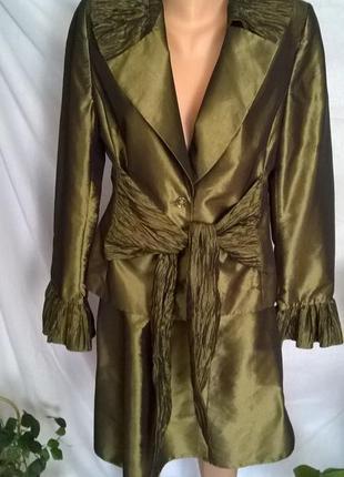 Вечерний нарядный костюм юбка пиджак space
