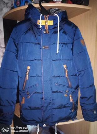 Куртка парка подросток мужская