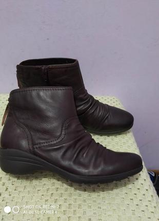 Кожаные ботинки footglove