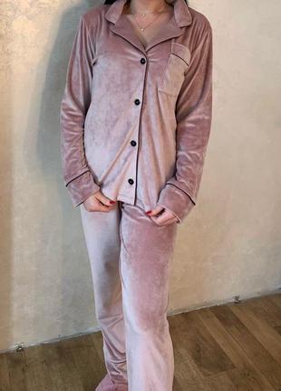 Пижама «костюм» штаны+ рубашка