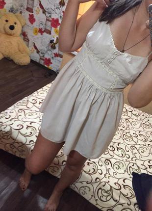 Летний сарафан платье легкое