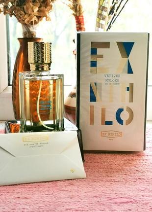 Оригинал 🔺ex nihilo vetiver moloko, 100мл парфюм, духи - унисекс