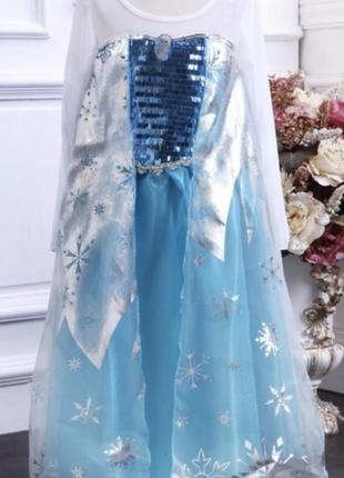 Новогодние платье эльзы 116