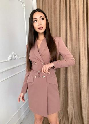 Стильное платье-жакет