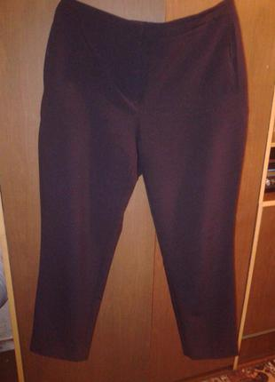 Классические прямые  черные  брюки