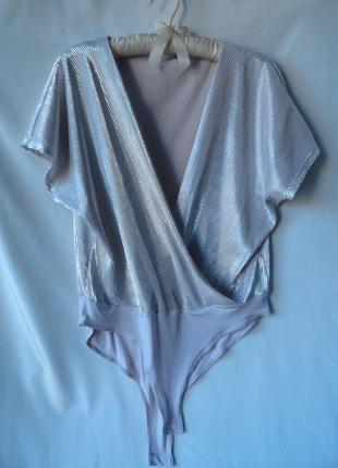 Нежная блуза-комбидресс очень нарядная