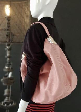 Valensiy. крупная сумка из натуральной кожи.