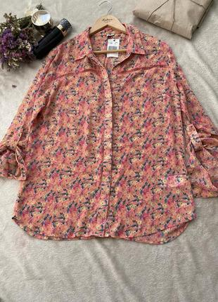 Блуза / рубашка с принтом1 фото