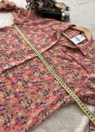 Блуза / рубашка с принтом9 фото