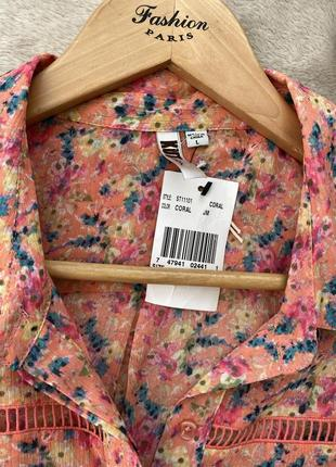 Блуза / рубашка с принтом6 фото