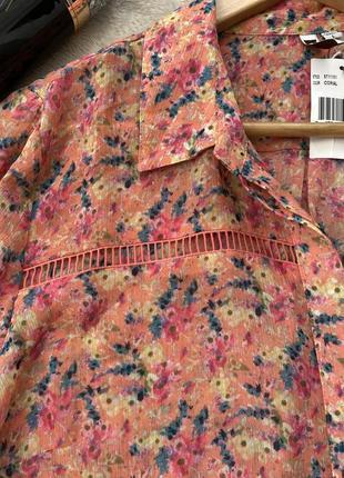 Блуза / рубашка с принтом5 фото