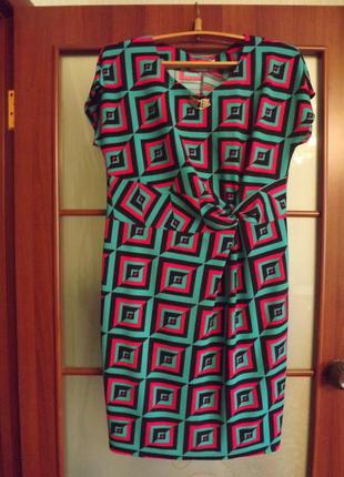 Оригинальное платье, туника большого размера