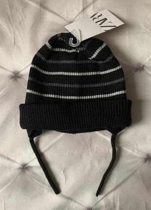Zara вязаная шапка