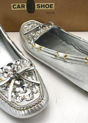 Prada car shoe мокасины балетки 35.5-36 оригинал