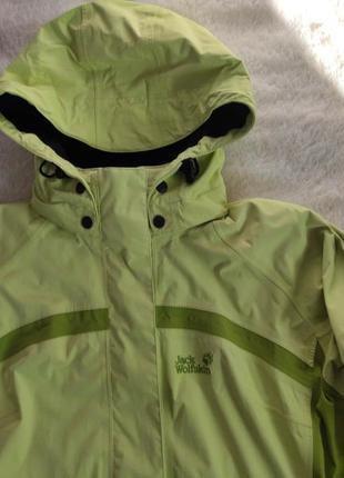 Женская мембранная всесезонная куртка 3в1 jack wolfskin р. l- xl оригинал