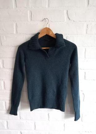 Теплый шерстяной свитер поло  balensiaga