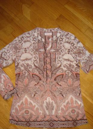 Очень красивая блуза из хлопка