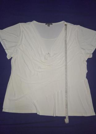 Молочно-белая блузка