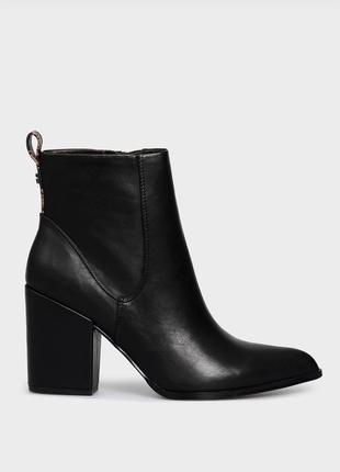 Guess женские черные ботинки ботильоны bredy оригинал