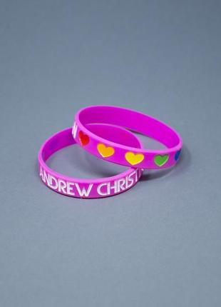 Браслет pride love от andrew christian
