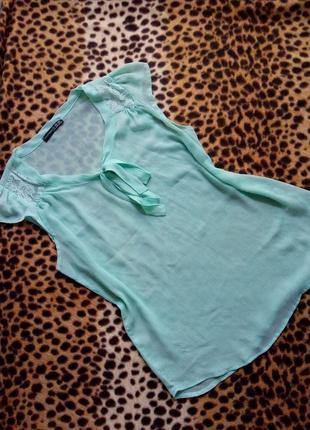 Прозрачная блуза фирмы atmosphere. женская блуза atmosphere