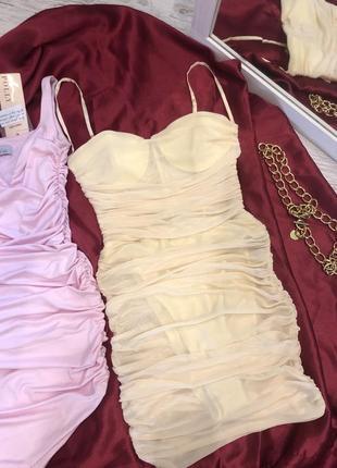 Корсетное платье сетка💛. корсетна сукня сітка oh polly4 фото
