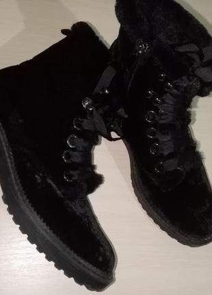 Ботинки сапоги сапожки stradivarius