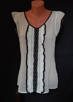 Блузка miss e-vie (размер 10)