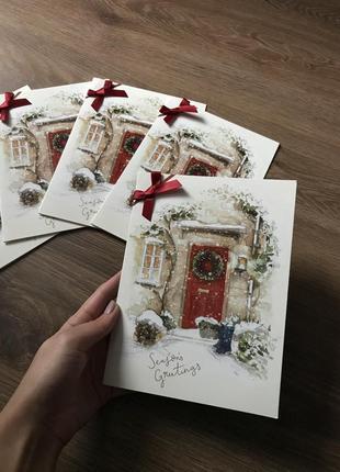 Набор новогодних открыток clinton's 5 шт.