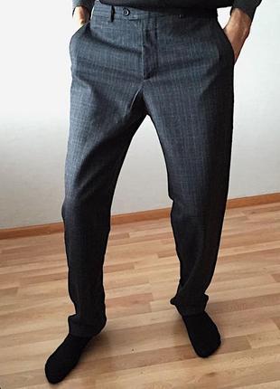 Мужские штаны шерстяные брюки eredi ridelli