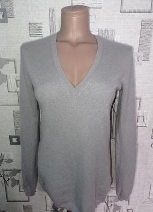 Кашемировый свитер пуловер джемпер zara knit
