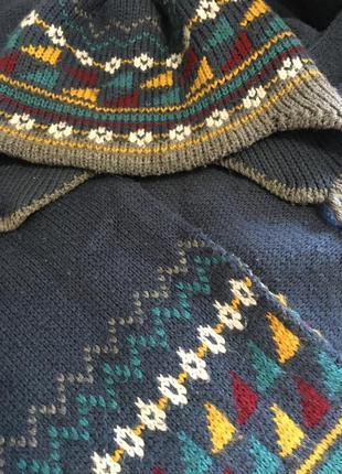 Набор:шапка,шарф,перчатки