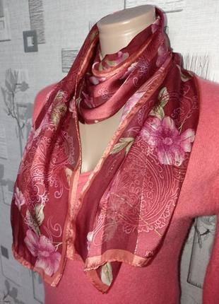 Шелковый шарф jones new york