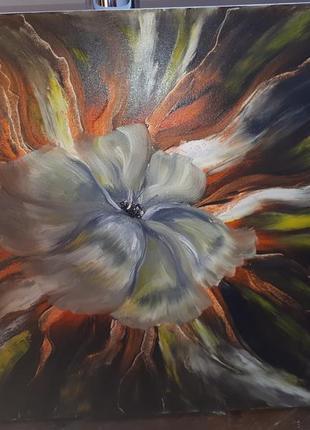 Картина олійними фарбами (маслом). пейзаж.