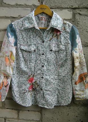 Рубашка с вышивкой.